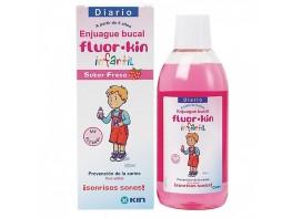 FLUORKIN INFANTIL ENJUAGUE FRESA 500 ML