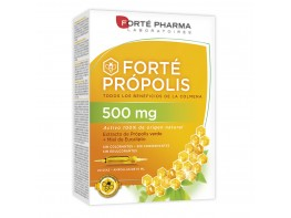 FORTE PROPOLIS 500 MG 20 AMPOLLAS