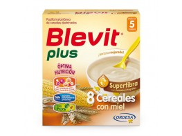 Blevit Plus superfibra 8 cereales con miel 600g