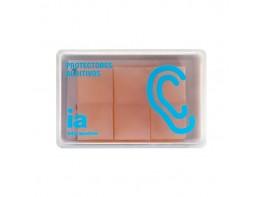 Interapothek tapón oído silicona moldeable 6uds
